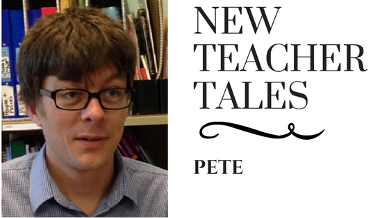 New Teacher Tales Pete TEFL Teach English