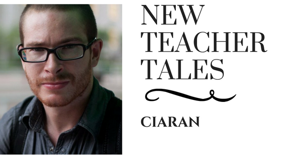 New Teacher Tales Ciaran TEFL Teach English