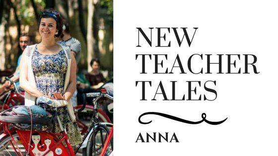New Teacher Tales Anna TEFL Teach English